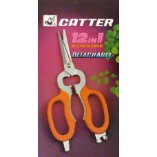 Original CATTER 12 in 1 Multi-Purpose Scissors
