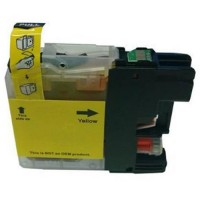 Brother LC-133Y Yellow Compatible Ink Cartridge