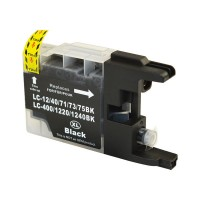 Brother LC-73BK Black Compatible Ink Cartridge