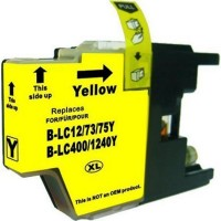 Brother LC-73Y Yellow Compatible Ink Cartridge