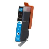 Canon CLI-671XLC Cyan Compatible Ink Cartridge