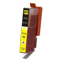 Canon CLI-671XLY Yellow Compatible Ink Cartridge