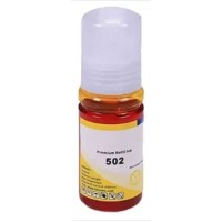Epson T502 Yellow Compatible Ink Refill Bottle