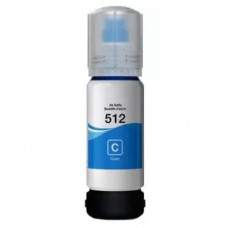Epson T512 Cyan Compatible Ink Refill Bottle
