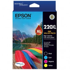 Epson 220XL High Capacity Ink Cartridges Value Pack