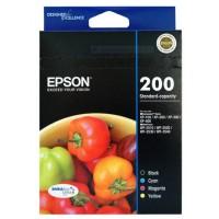 Epson 200 Ink Cartridges Value Pack 4 Standard-capacity