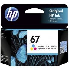 HP 67 Tri-colour Original Ink Cartridge