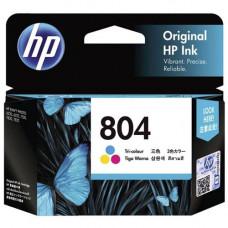 HP 804 Tri-Colour Original Ink Cartridge (T6N09AA)